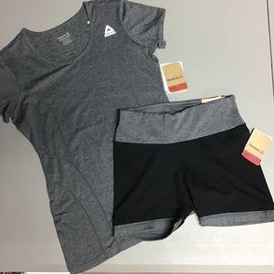 Reebok tee & shorts
